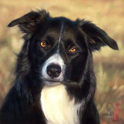 detailed pastel pet portraits