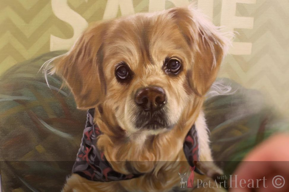 sadie oil portrait