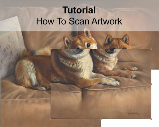 how to scan artwork tutorial