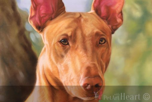 Paste portrait pharaoh hund rebel