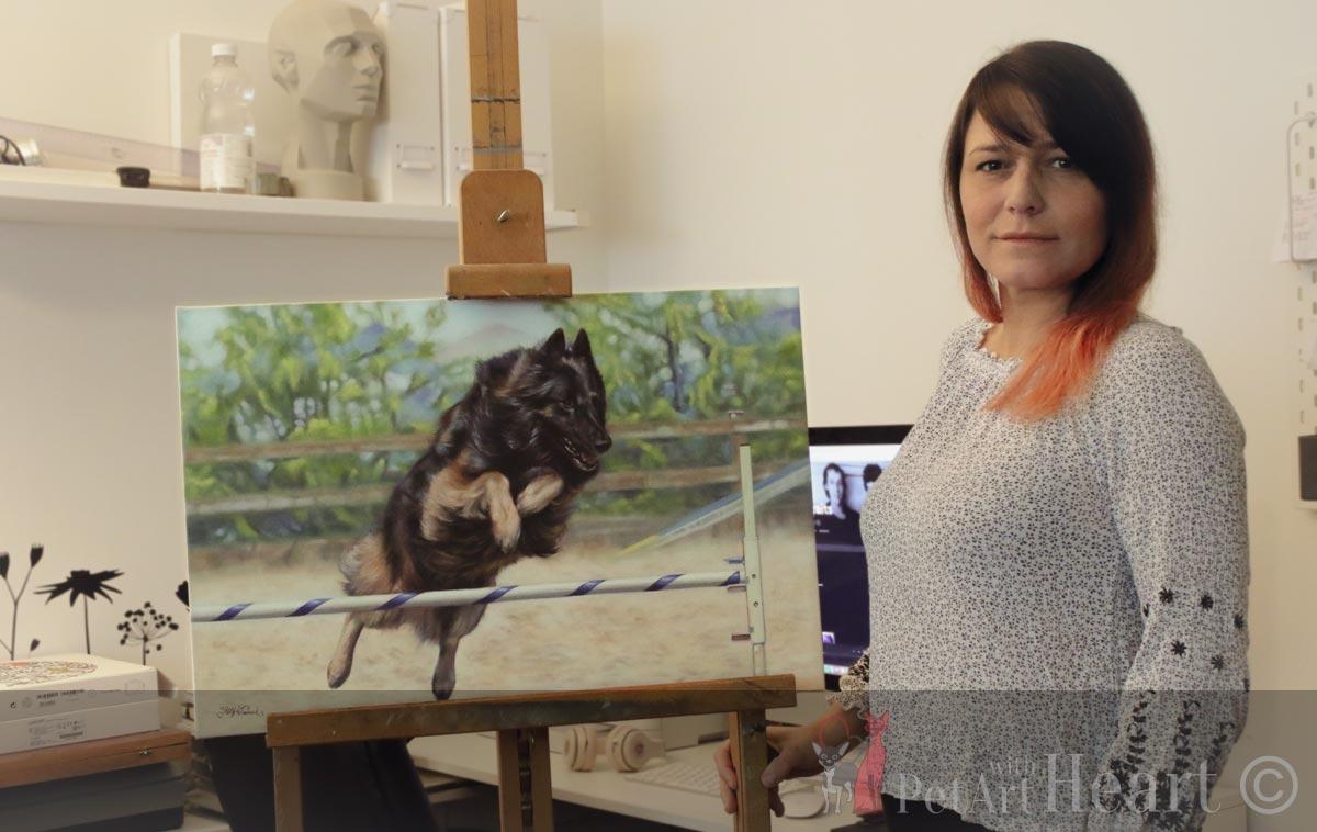 pet portrait artist katja turnsek